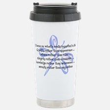 Funny Affirmation Travel Mug