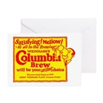 Columbia Brew-1925B Greeting Cards (Pk of 10)