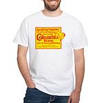 Columbia Brew-1925B White T-Shirt
