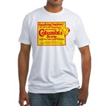 Columbia Brew-1925B Fitted T-Shirt