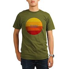 Xmas Golden Retriever Friend Dog T-Shirt