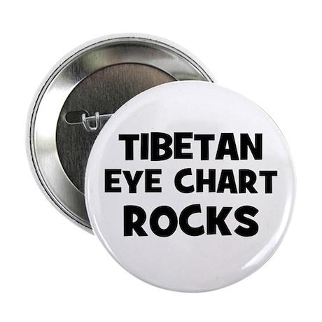 Tibetan Eye Chart Rocks Button