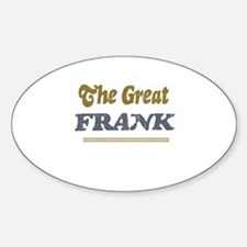 Frank Oval Decal