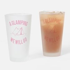 Cute Camping Drinking Glass