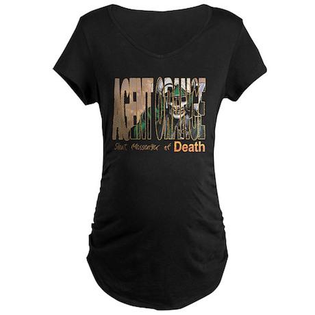 Agnet Orange Maternity Dark T-Shirt