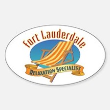 Fort Lauderdale Relax - Decal