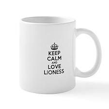 Keep Calm and Love LIONESS Mugs