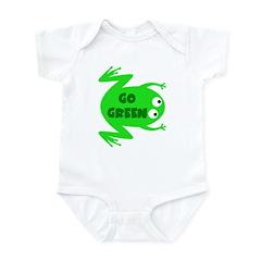 Go Green Frog Ecology Infant Bodysuit