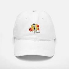 Retro Hula Girl Hat