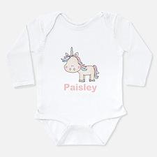 Paisley's Little Unico Long Sleeve Infant Bodysuit