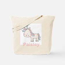 Paisley's Little Unicorn Tote Bag