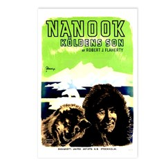 Nanook of the North Postcards (Package of 8)