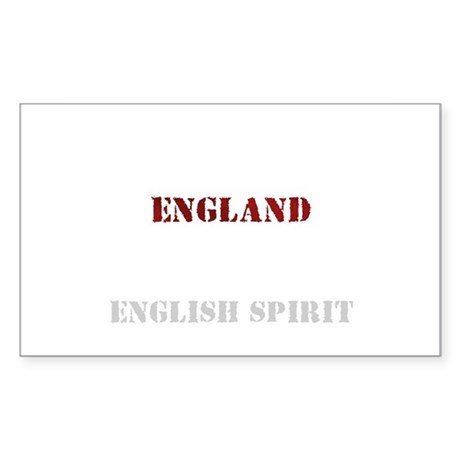 Spirit Rectangle Sticker