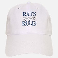 Rats Rule Rat Face Baseball Baseball Cap