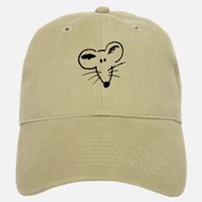 Rat Face Baseball Baseball Cap