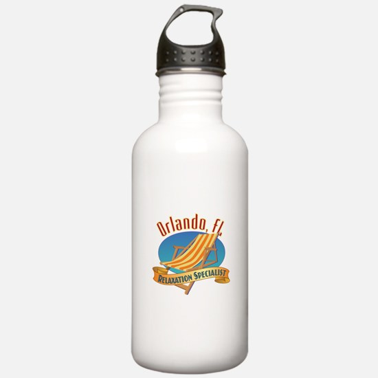 Orlando Florida Relax Water Bottle