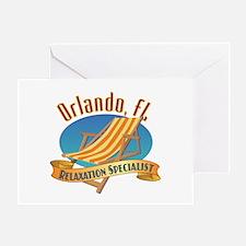 Orlando Florida Relax - Greeting Card