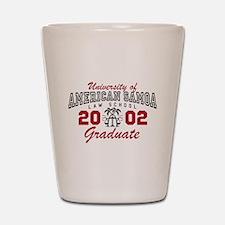 University Of American Samoa Grad Shot Glass