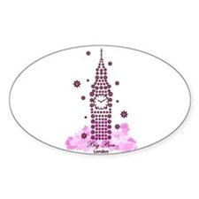 Planted Big Ben Oval Decal