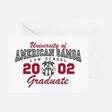 University Of American Samoa Grad Greeting Cards