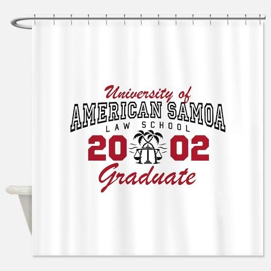 University Of American Samoa Grad Shower Curtain