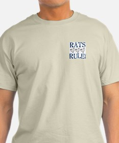 Rats Rule Rat Face T-Shirt