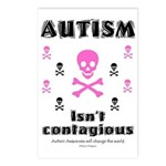 Autism isn't contagious Postcards (Package of 8)
