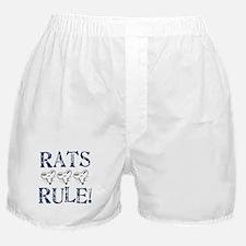 Rats Rule Rat Face Boxer Shorts