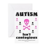 Autism isn't contagious Greeting Card