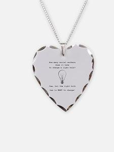 Unique Bulb Necklace