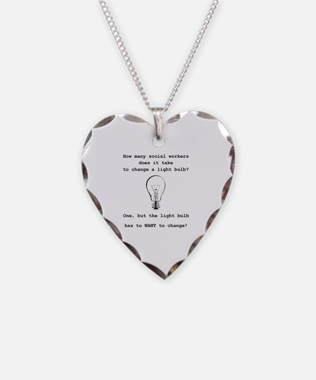 Cute Bulb Necklace