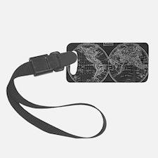 Cool Black Luggage Tag