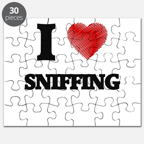 I love Sniffing Puzzle