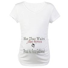 proud air force girlfriend Shirt
