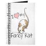 I Love My Fancy Rat Journal
