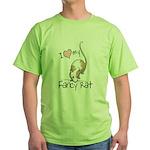 I Love My Fancy Rat Green T-Shirt