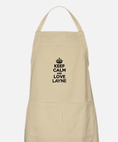 Keep Calm and Love LAYNE Apron