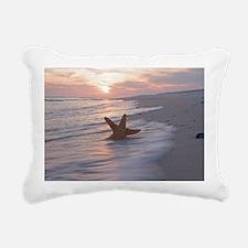 Cute Waves Rectangular Canvas Pillow