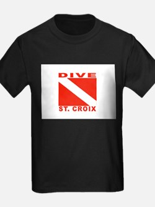 Dive St. Croix, USVI T-Shirt
