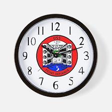 USS Point Defiance (LSD 31) Wall Clock