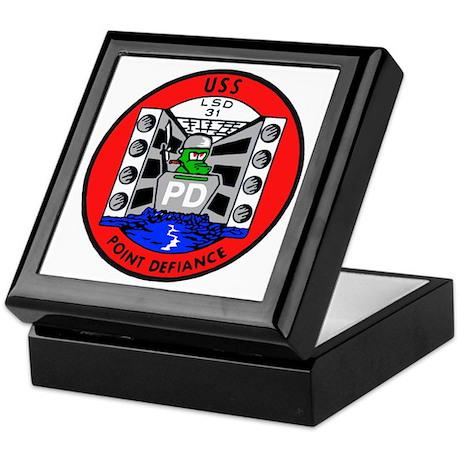 USS Point Defiance (LSD 31) Keepsake Box