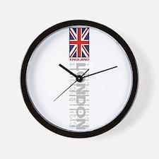 Vertical Flag Wall Clock