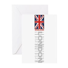 Vertical Flag Greeting Cards (Pk of 10)