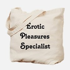 Erotic Pleasures Specialist Tote Bag