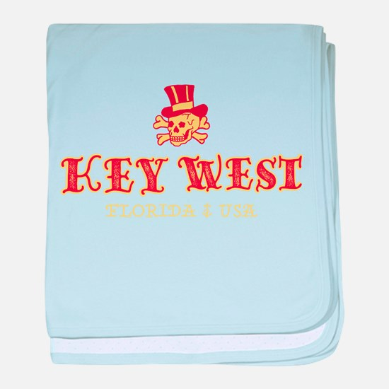 Key West Pirate - baby blanket