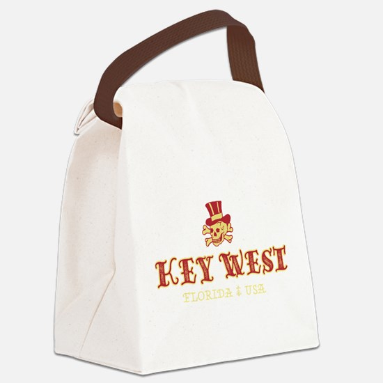 Key West Pirate - Canvas Lunch Bag