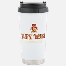 Key West Pirate - Stainless Steel Travel Mug