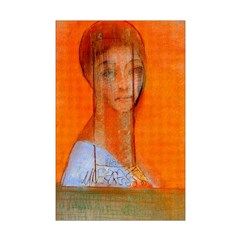 Odilon Redon Veiled woman Posters