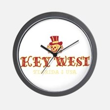 Key West Pirate - Wall Clock