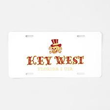 Key West Pirate - Aluminum License Plate
